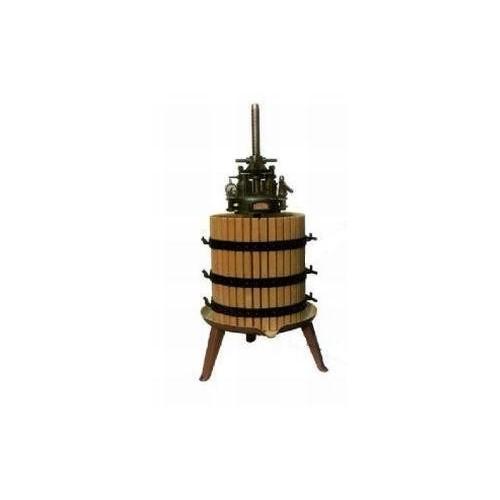 Presă cu acţionare manuală, fără sistem hidraulic cu coş de lemn 20 cm